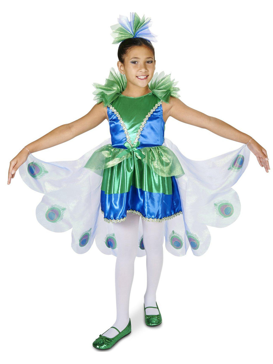 View larger image of Peacock Child Costume