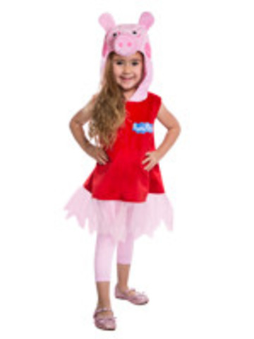 Toddler Peppa Pig Dress w/ Tulle