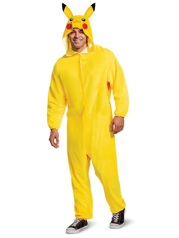 Pikachu Classic Pokemon Costume for Adults