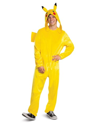 Pikachu Deluxe Pokemon Costume for Adults
