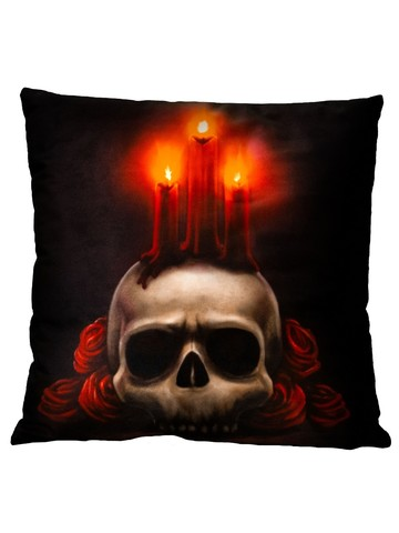 Candles Pillow Decoration