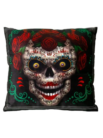 Day of the Dead Pillow Decoration