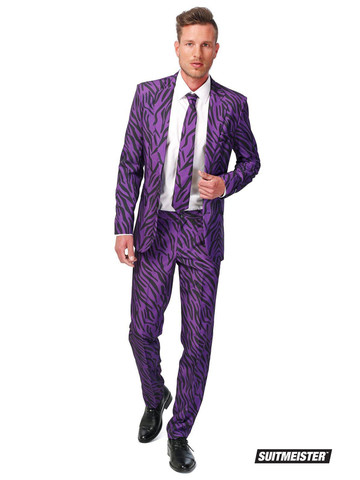 Adult Suitmeister Pimp Tiger Fancy Dress Suit