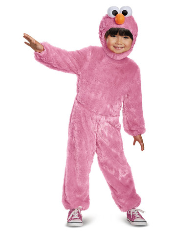 Toddler Pink Elmo Comfy Fur Costume