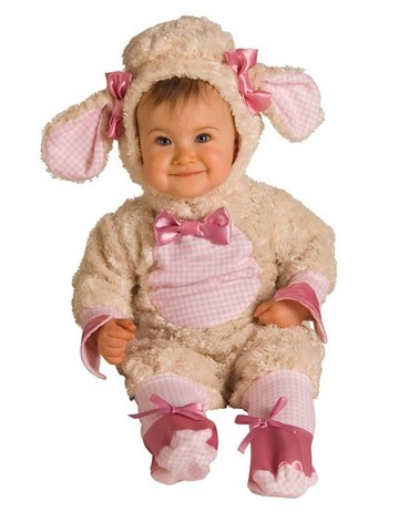 Pink Lamb Newborn/infant