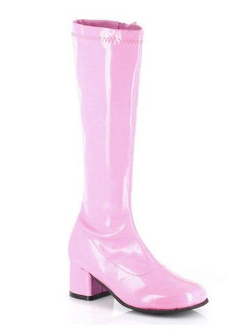 Pink Patent Gogo Boot Child