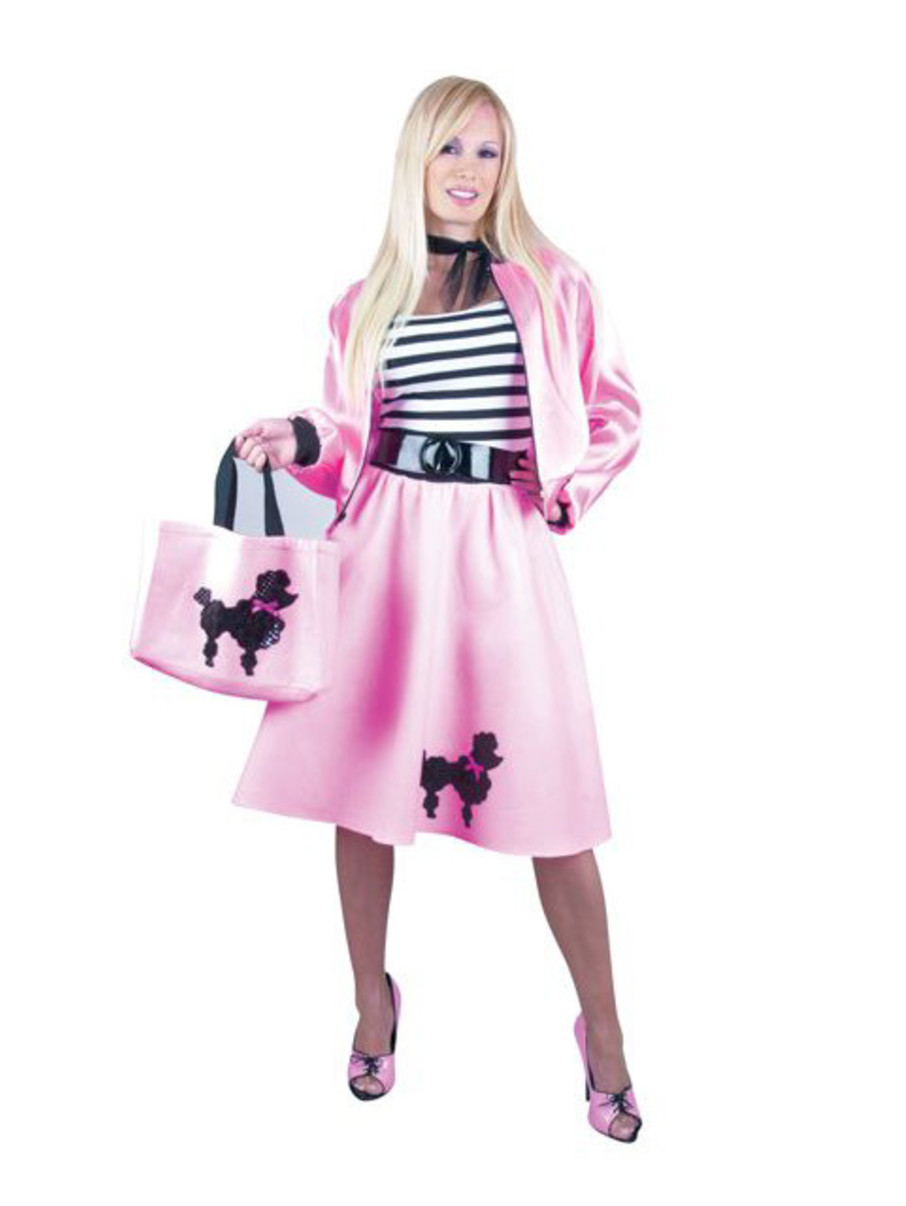 View larger image of Pink Poodle Dress Adult Plus Costume
