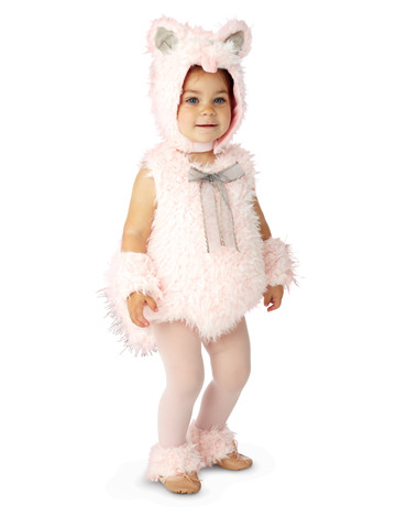 Toddler/Infant Pink Shaggy Costume