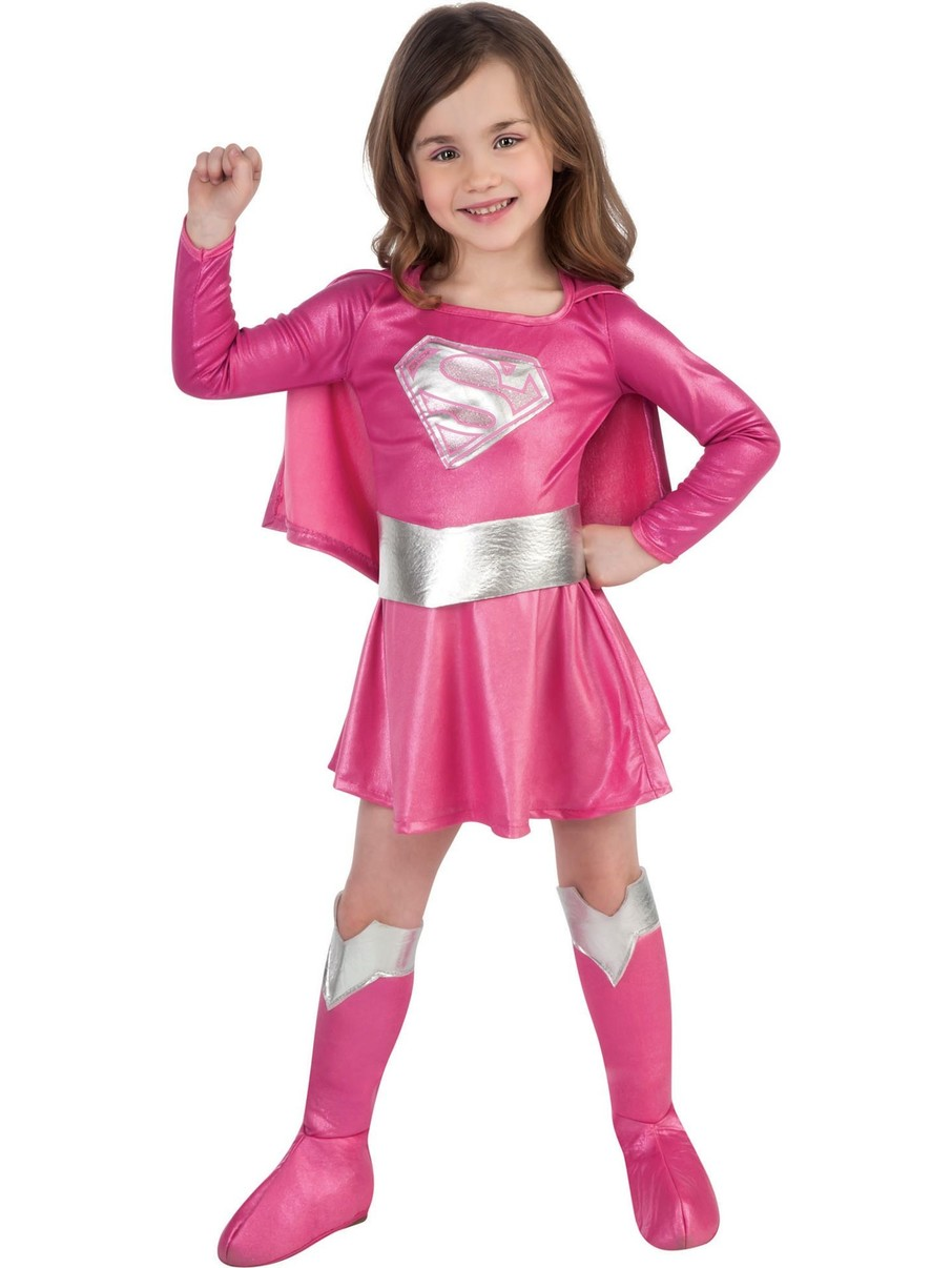 View larger image of Pink Supergirl Child Costume