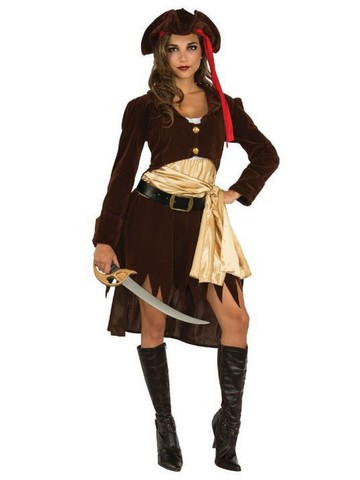 Adult Pirate Booty Costume