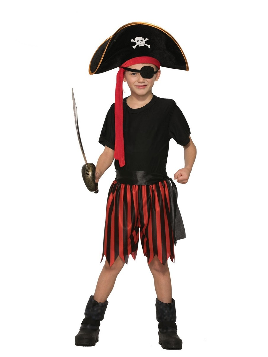 View larger image of Childrens Pirate Boy Dress Up Kit