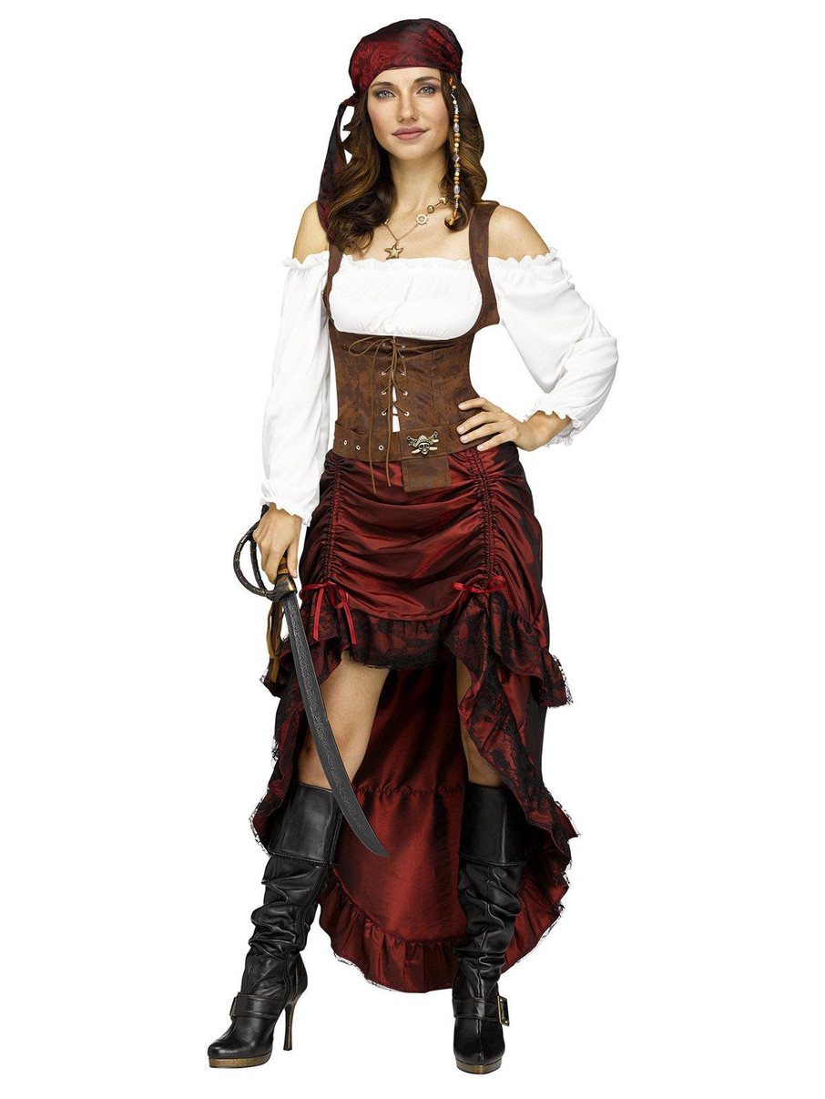 View larger image of Adult Pirate Queen Costume