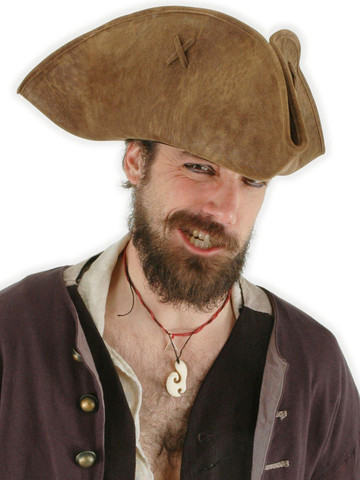 Adult Pirates of the Caribbean - Jack Sparrow Hat