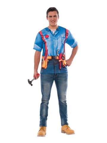 Adult Plumber Shirt Costume