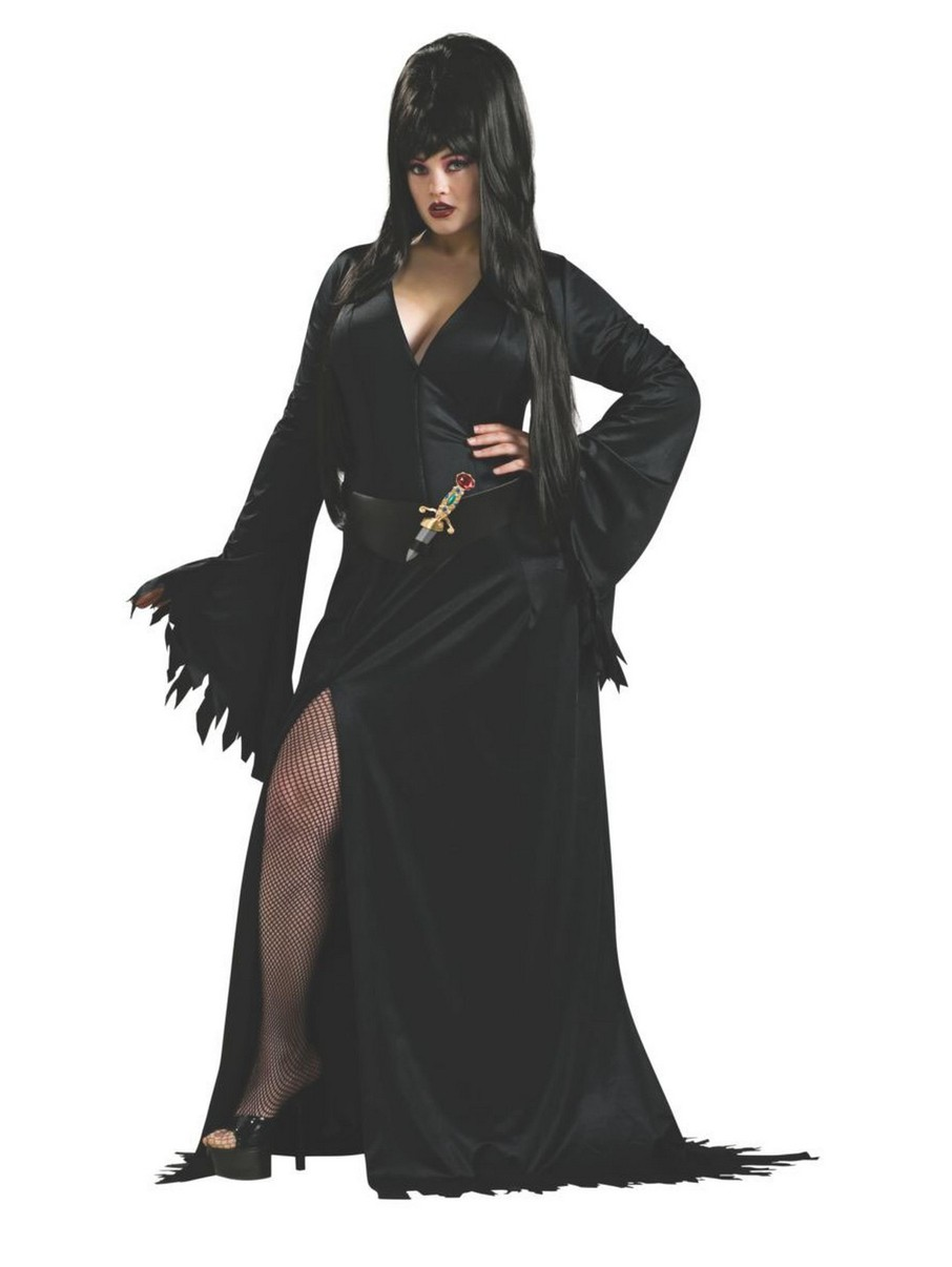 View larger image of Elvira Adult Plus Size Costume