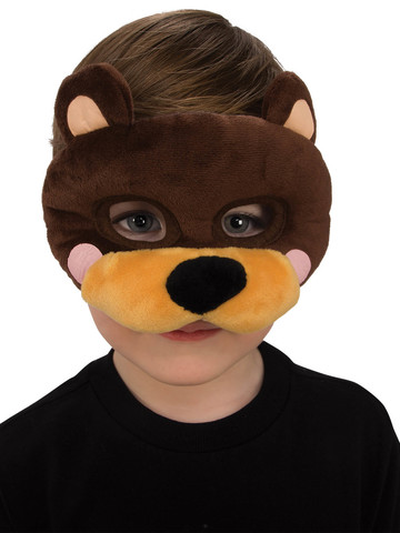 Bear Plush Eye Mask