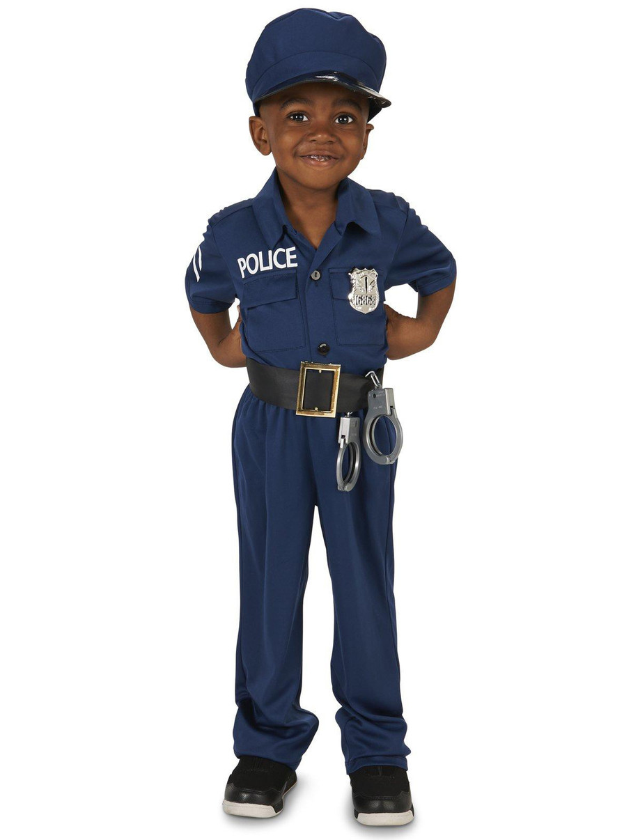 View larger image of Police Officer Toddler Costume