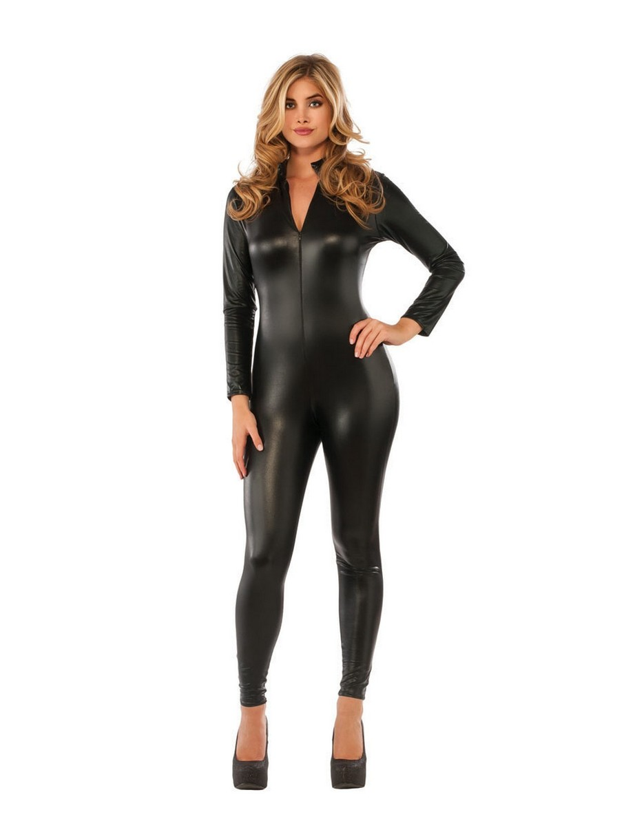 View larger image of Black Polyester Jumpsuit Costume