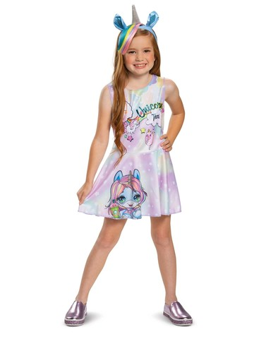 Dazzle Darling Poopsie Unicorn Classic Costume for Girls