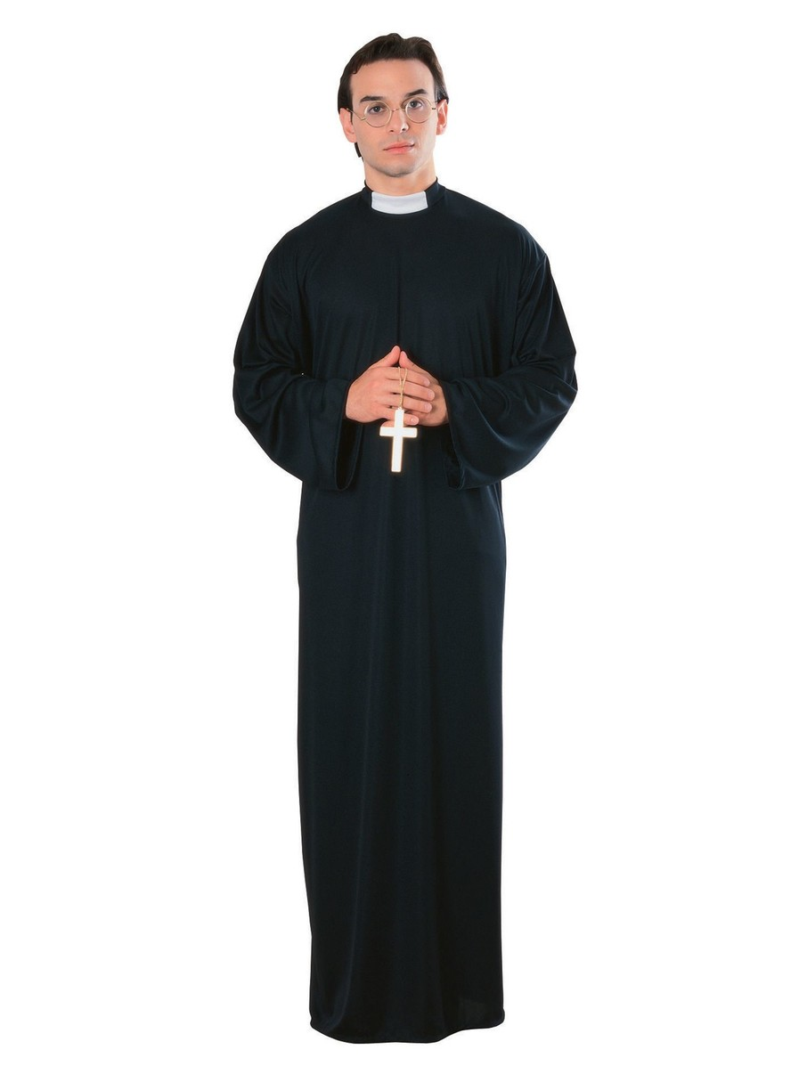 View larger image of Priest Adult Costume