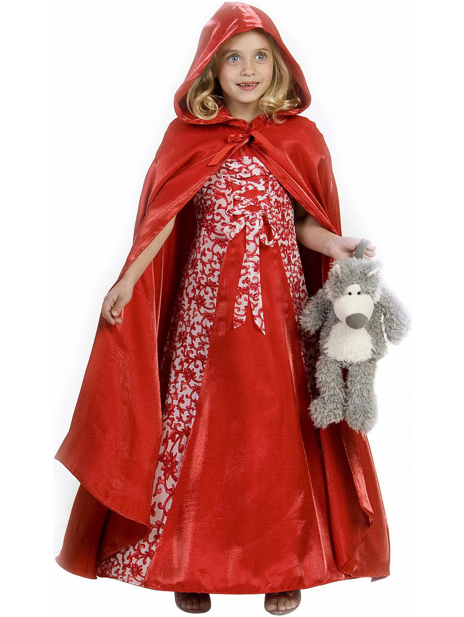 View larger image of Child Lil Red Riding Hood Princess Costume