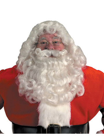 Professional Santa Wig and Beard Set