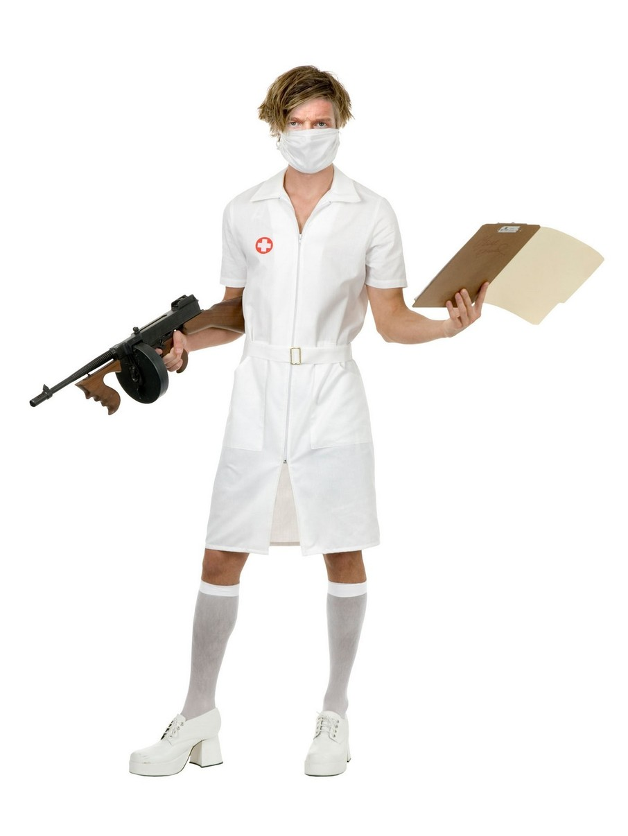 View larger image of Psycho Nurse Mens Costume