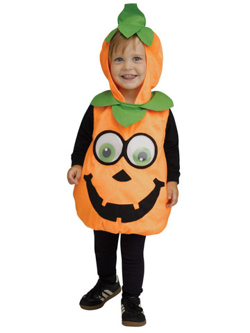 Baby Pumpkin Googly Eyes Costume