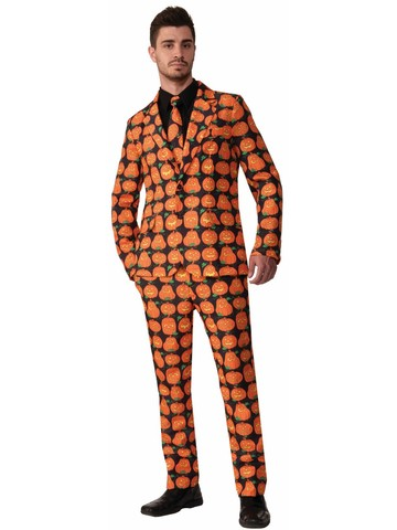 Pumpkin Adult Costume Suit