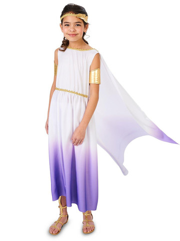 Kids Purple Passion Greek Goddess Costume