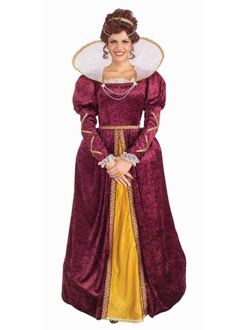 Costume - Queen Elizabeth Adult