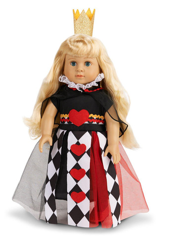 Charmed Queen 18in Doll Costume for Kids