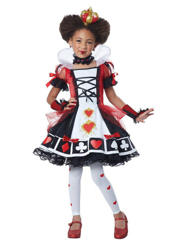 Child Red Queen Costume