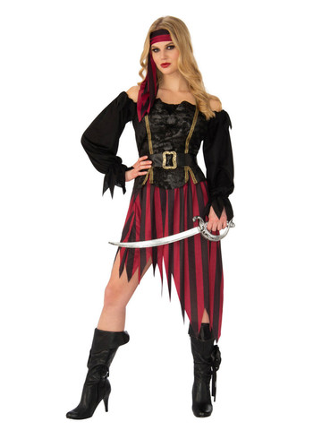 High Seas Pirate Queen Costume