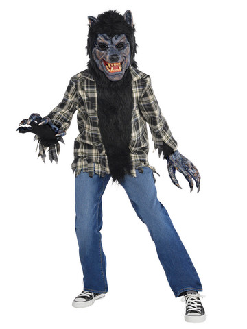 Rabid Werewolf Child Costume