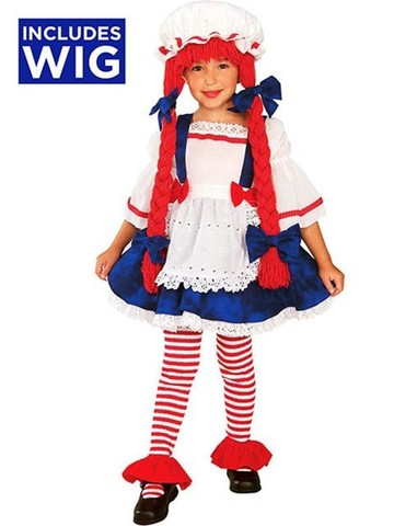 Yarn Babies Rag Doll Girl Toddler / Child Costume