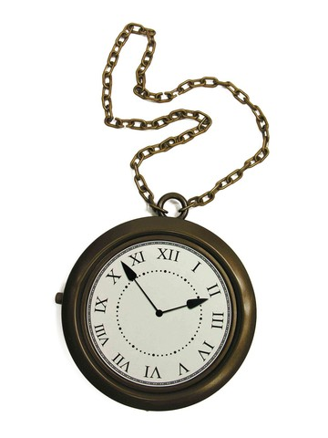 Big Rappers Clock Necklace for Adults