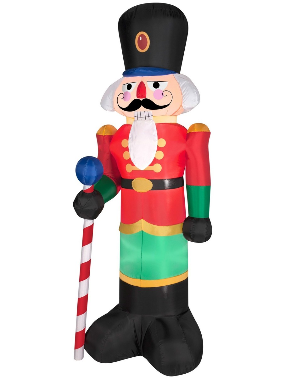 View larger image of 6.5 Ft Airblown Red Nutcracker Decoration