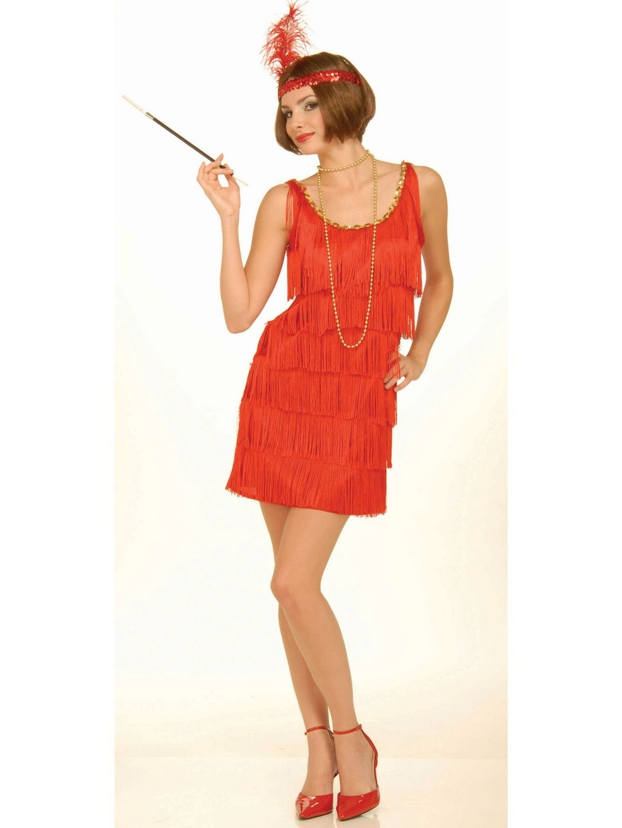 View larger image of Red Flapper Womens Costume