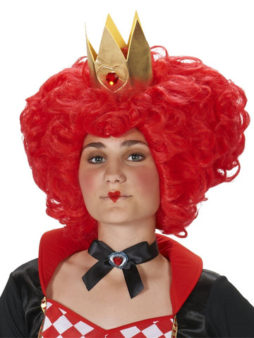 Long Natural Red Sultry Adult Costume Wig