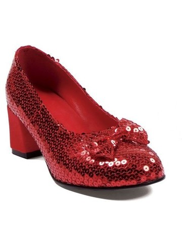 Red Sequin Shoes Adult