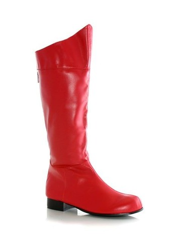 Red Super Hero Boot Men