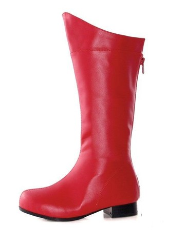 Red Superhero Boot Child