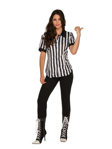 Adult Referee Shirt Costume