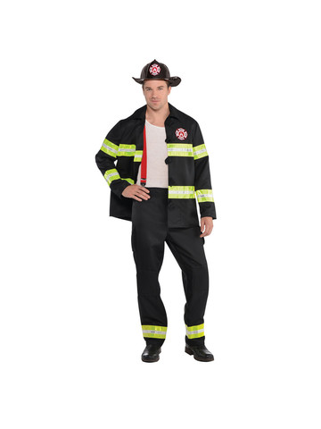 Rescue Me Fireman Adult Costume