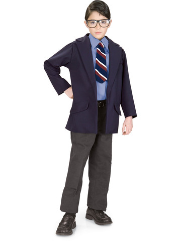 Reversible Clark Kent/Superman Child Costume
