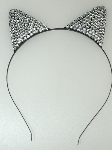 Rhinestone Cat Ears