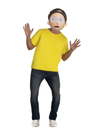 Rick & Morty Mens Morty Costume