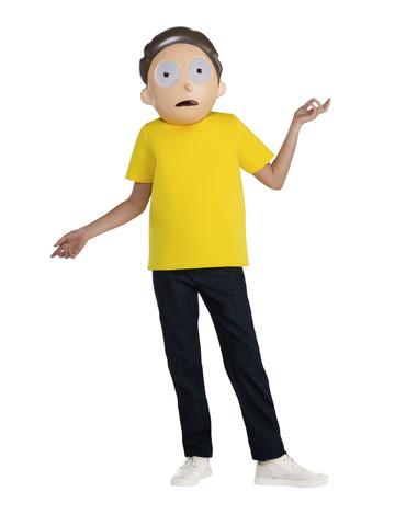 Rick & Morty Teen's Morty Costume