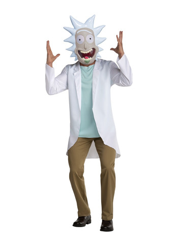 Rick & Morty Mens Rick Costume